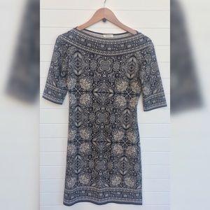 [Max Studio] Boho Paisley Bodycon Pattern Dress